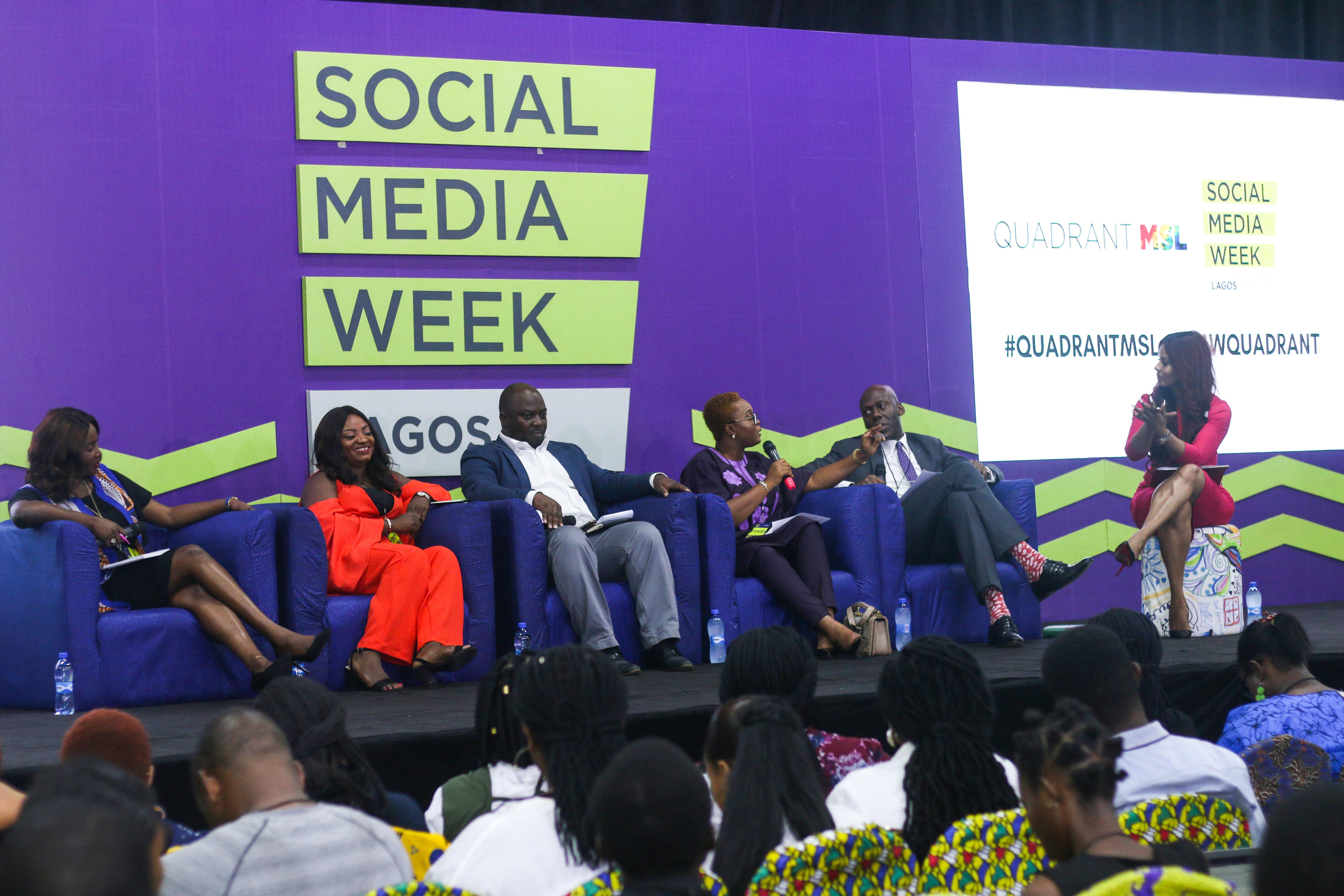 Photos From Social Media Week Lagos 2019